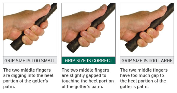 all about golf grips