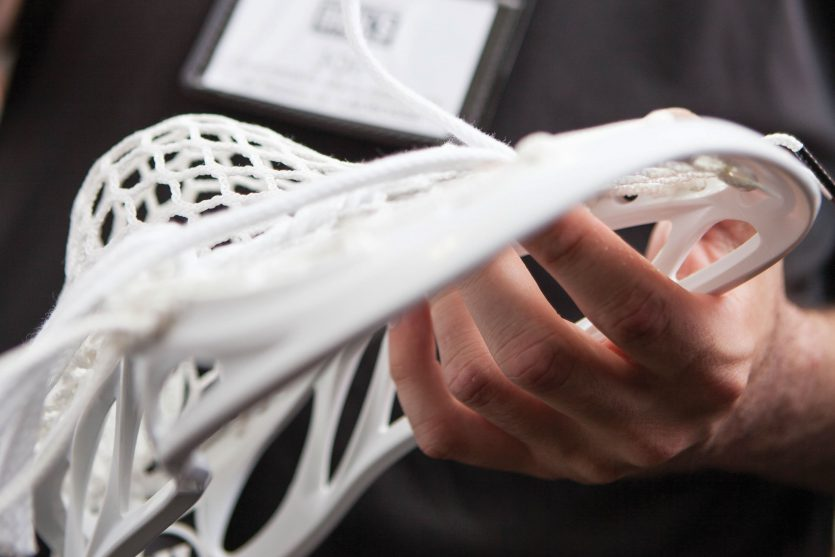 sting a lacrosse stick