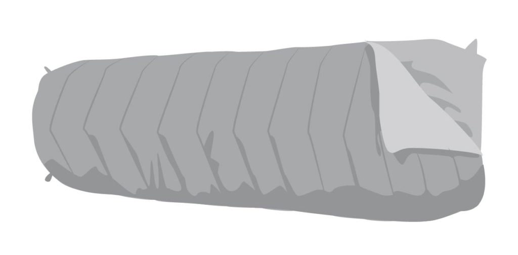 Semi-rectangular Sleeping Bag