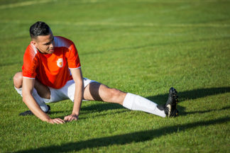 soccer stretches