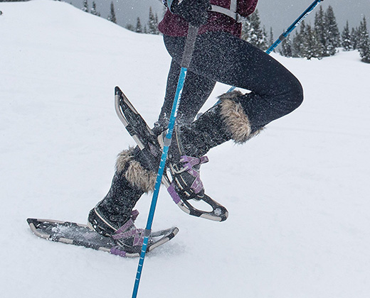 Snowshoeing Gear and Equipment