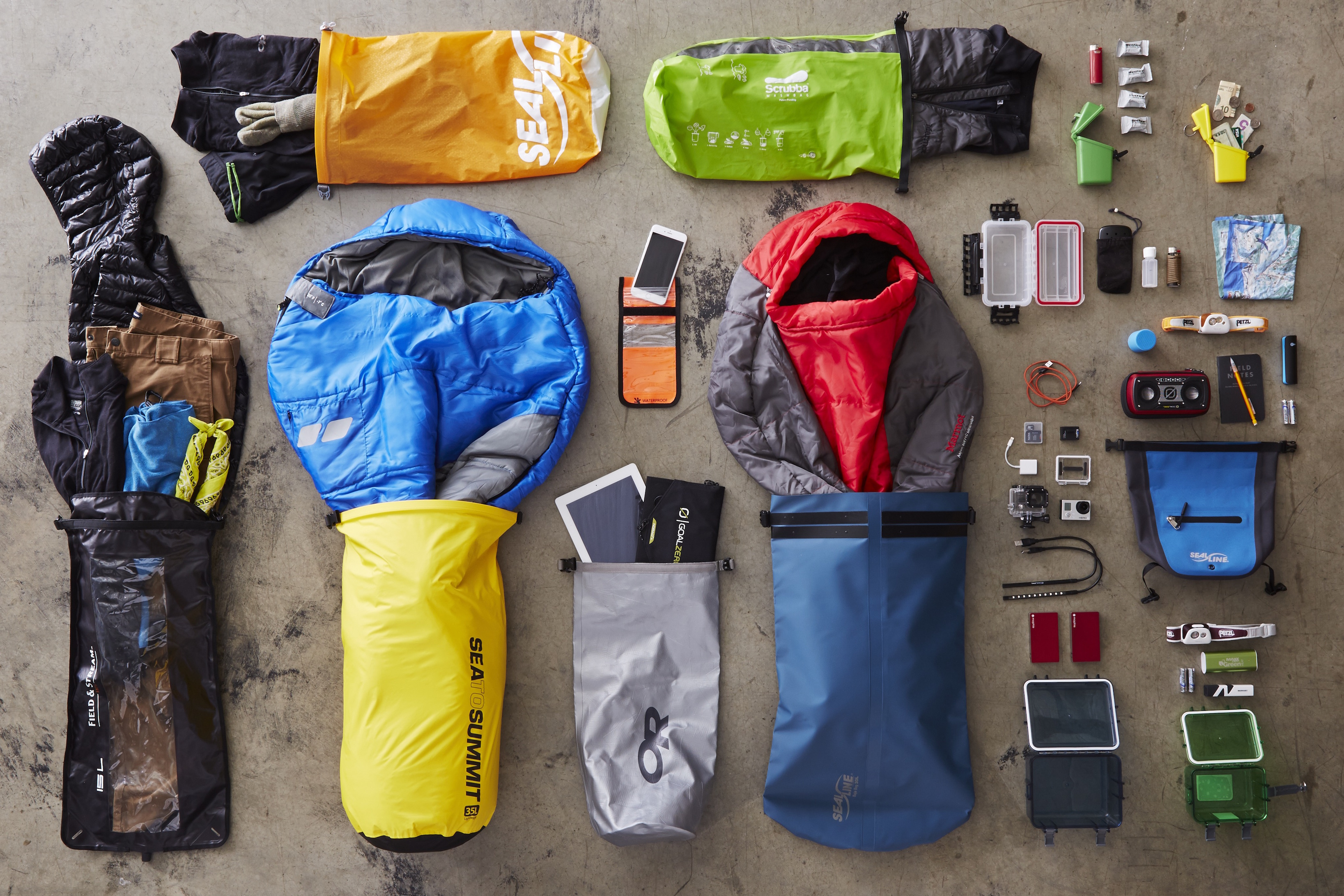 how to keep your gear dry