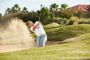 Golf Tips: Fairway Bunker Shot Setup