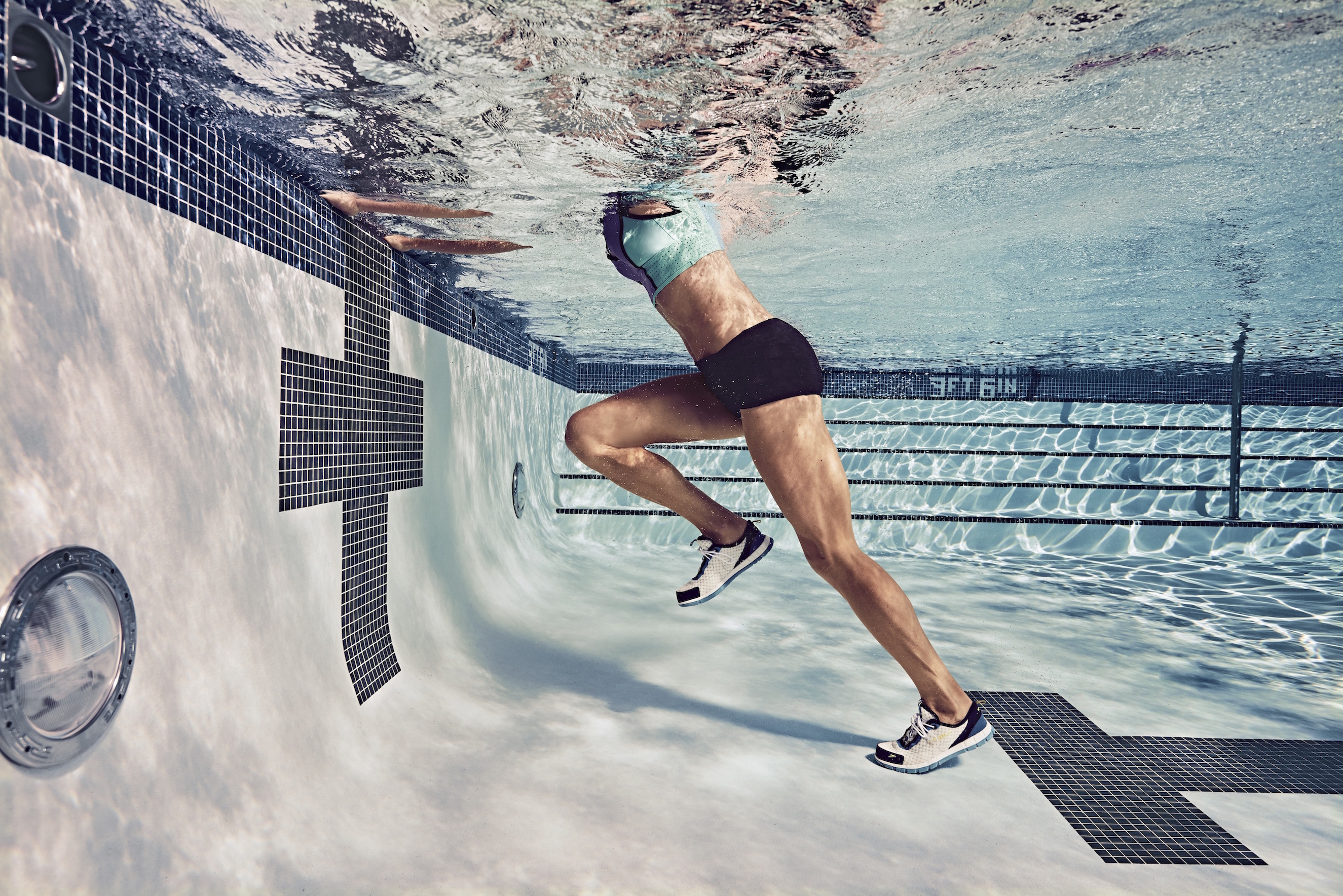 pool drills for runners