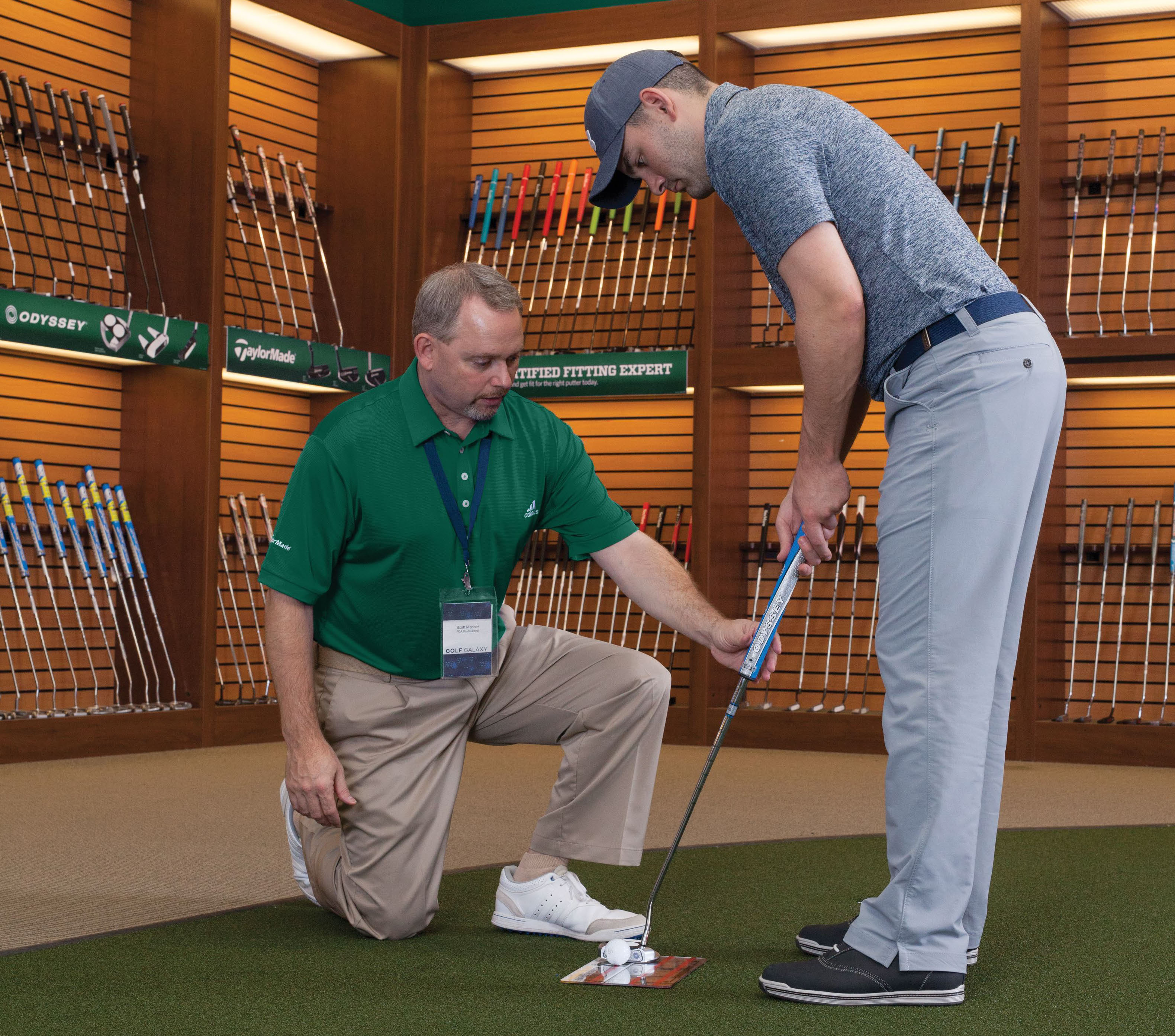 getting your golf putter fitted
