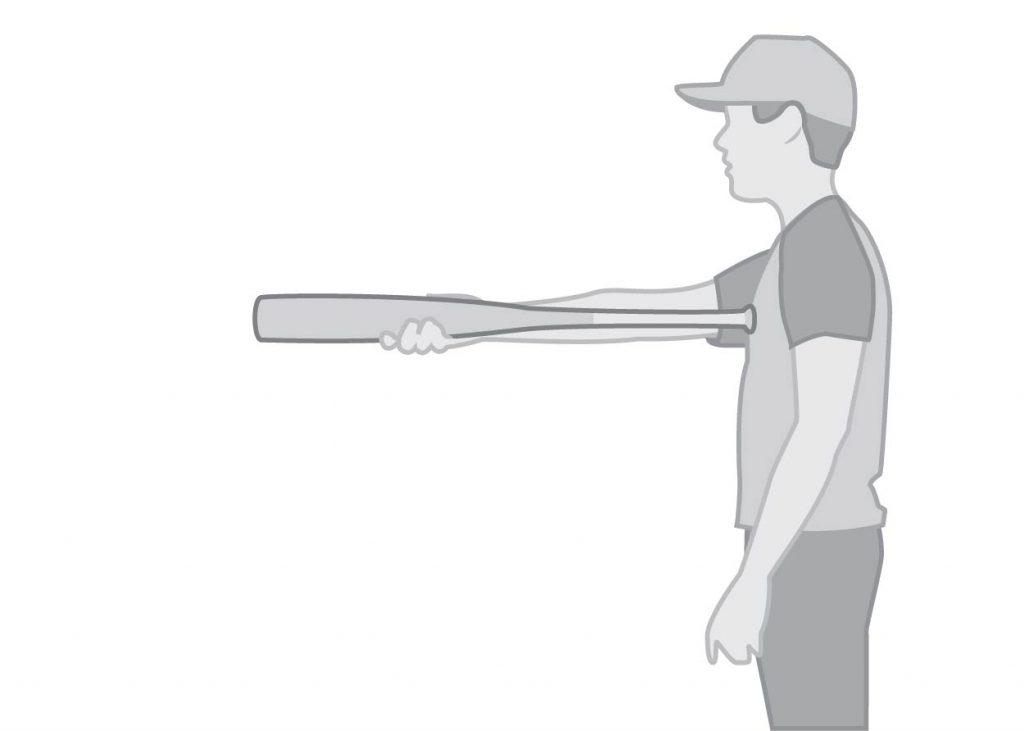 longueur de batte de baseball pour les jeunes