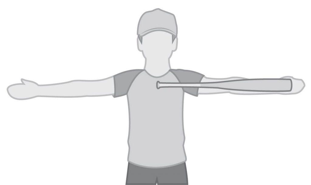 longueur de batte de baseball