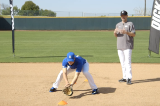 baseball footwork drills