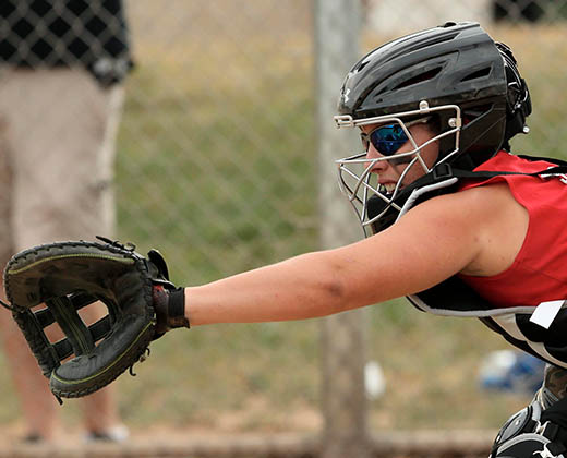 Sotball Catcher's Helmets