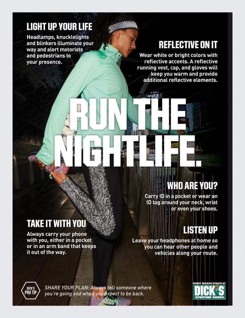 nighttime running tips