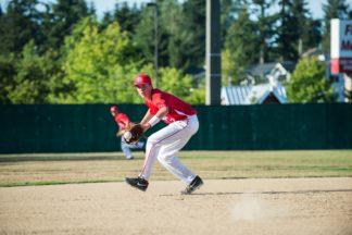 backhand a baseball