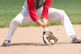 baseball infielder drills receiving the ball