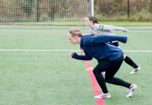Practicing Acceleration on the Pitch with Becky Sauerbrunn