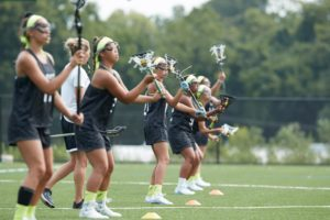 Learning Lacrosse: Catching