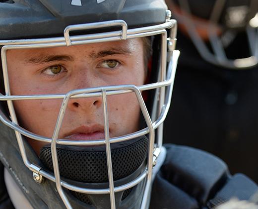 Baseball Catcher's Helmets