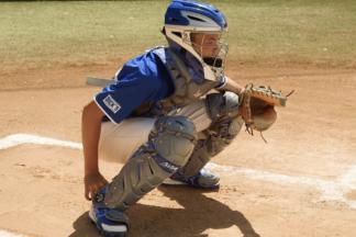 catcher setup position