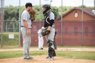 communication between catcher and pitcher