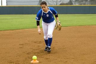 softball barehand