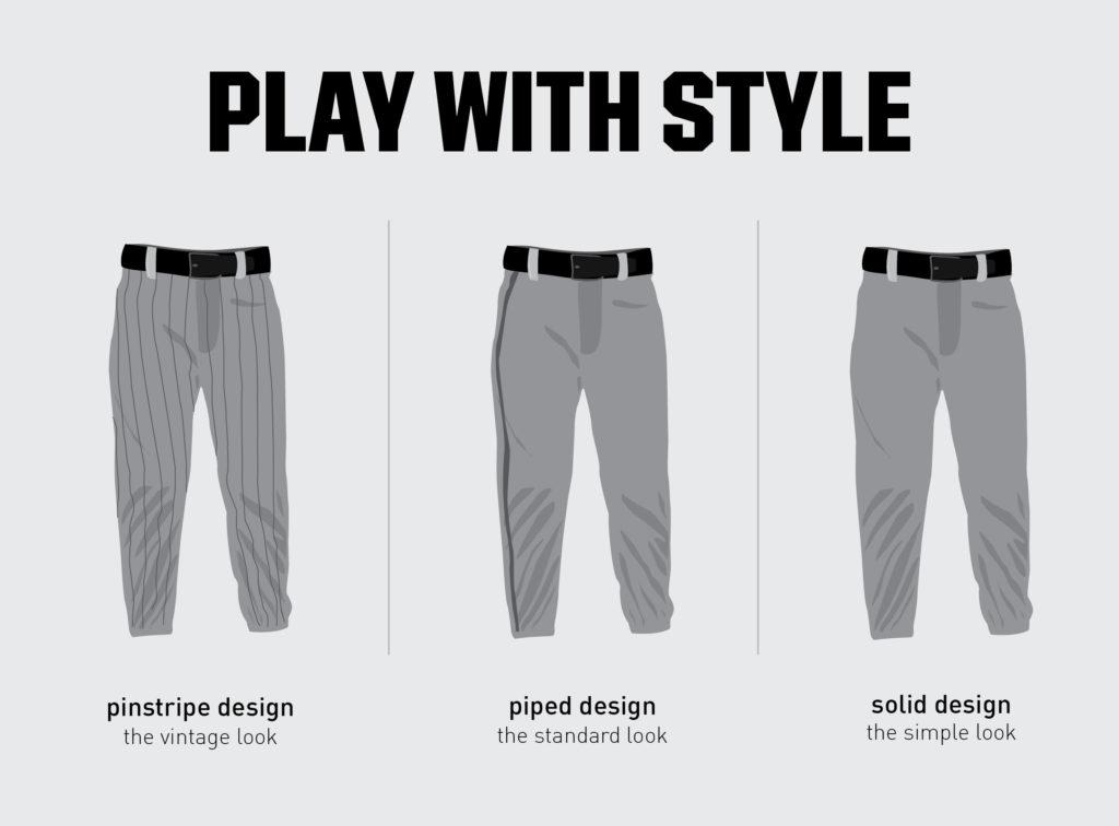 baseball pants designs
