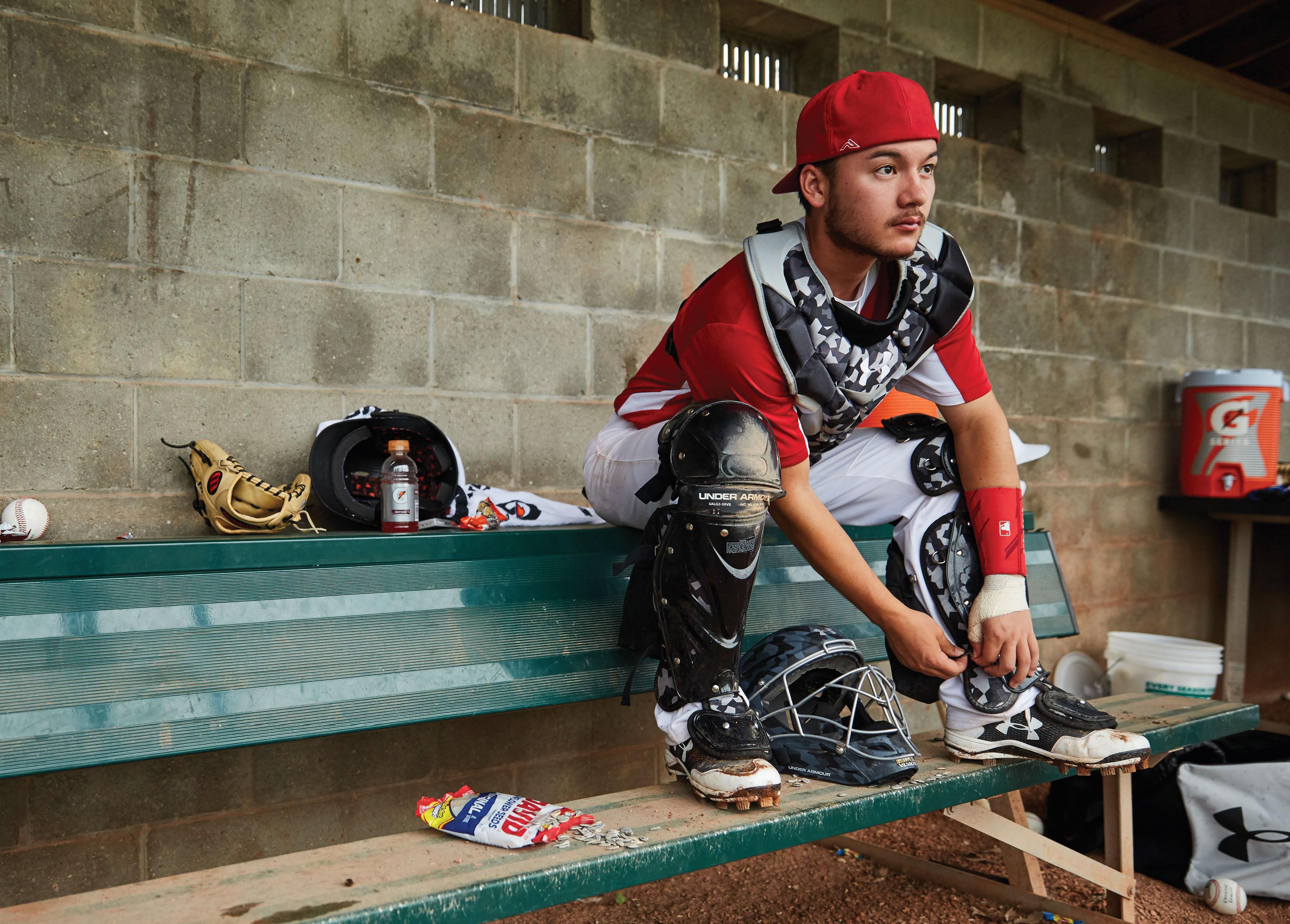 Baseball Catcher's Equipment
