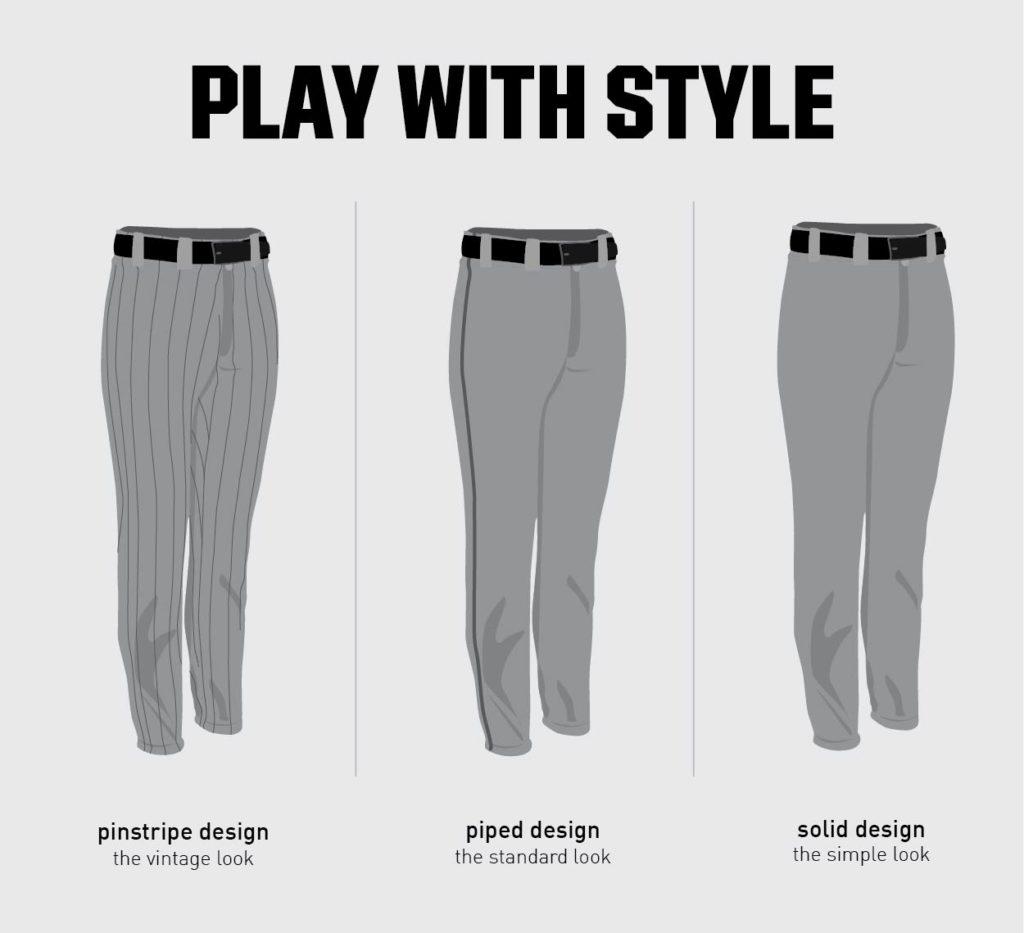 softball pants designs