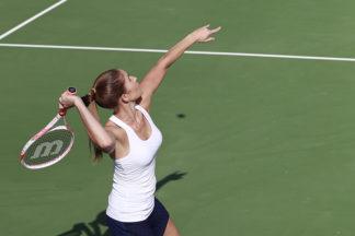 tennis overhand smash