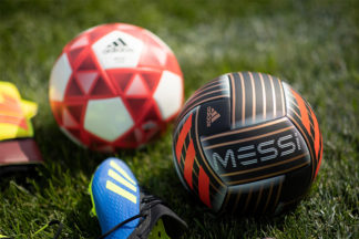 adidas messi soccer ball with adidas cleats