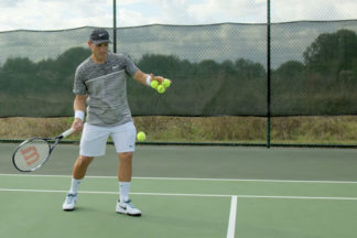 how to hit a forehand