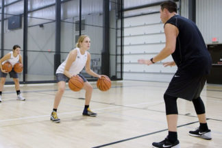 rolling thunder basketball drill