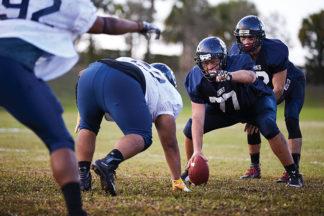 quarterback snap