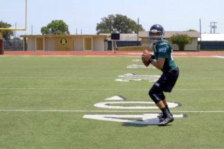 quarterback quick game drops