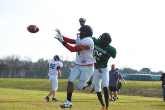 football defensive back, pass coverage