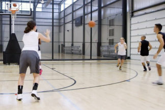 chemistry shooting basketball drill