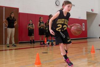 Basketball Drills V-Drill