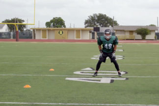 Linebacker Stance