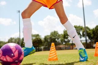 Soccer Slalom Drill