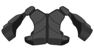 hybrid-lacrosse-Shoulder-pads