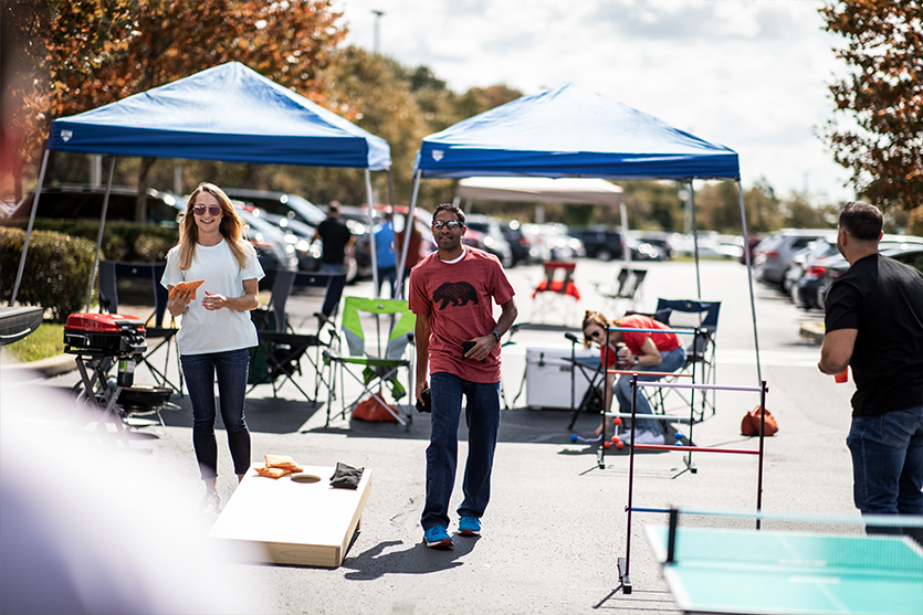 canopy fall tailgate