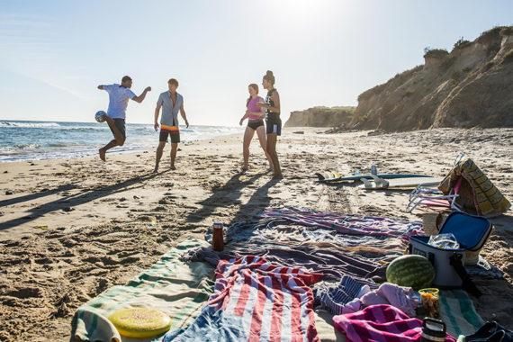BeachChecklist, what to bring to the beach