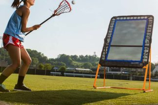 LAX Drills Practicing Rebounder
