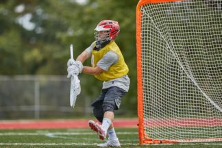 LAX Goalie Tips Stepping to Ball