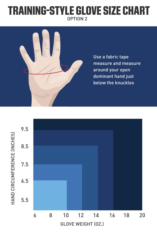 Boxing Glove Size Charts 2