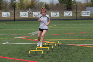 Lacrosse-Drills_Speed-Mini-Hurdle-Training