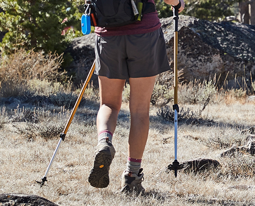 Trekking Poles and Walking Sticks