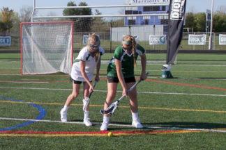 Women's Lacrosse Defense Empty Stick Check