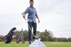 Warming Up on the Golf Range: Focus on the Right Clubs