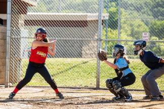 softball catcher stance and setup