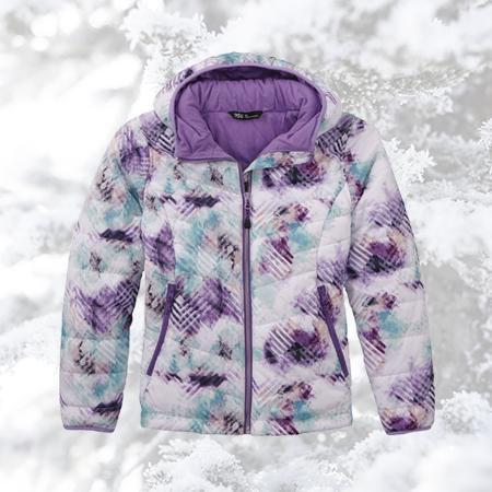 DSG Girls' Printed Insulated Jacket