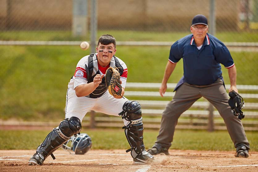 baseball catcher drills
