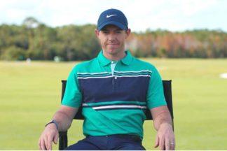 Professional Golfer Rory McIlroy